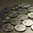Close up photo of coins — Stock Photo