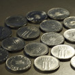 Close up photo of coins — Stock Photo #16849605