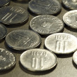 Stock Photo: Close up photo of coins