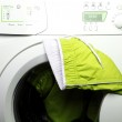 Trousers and laundry. — Stock Photo #19743559