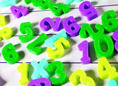 Close-up of numbers ! — Stock Photo