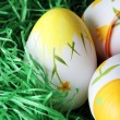 Painted easter eggs — Stock Photo #22965852
