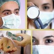 Medical collage. — Stock Photo #22968950