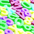 Close-up of letters. Great details ! — Stock Photo #23678203