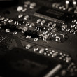 Electronic circuit board — Foto Stock