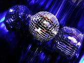 Blue Disco globe — Stock Photo