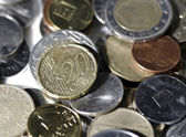 Coins - Close up — Stock Photo