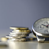 Time and Money — Stockfoto