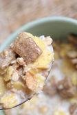 Crunchy breakfast cereals. — Stock Photo