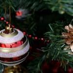 ozdoby świąteczne na drzewo — Zdjęcie stockowe