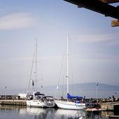 Segelbåtar帆船 — Stockfoto