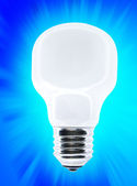 White bulb — Stock Photo