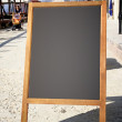 Restaurant menu chalkboard — Stock Photo #35167145