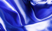Blue blanket — Stock Photo