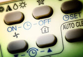Remote buttons. — Stock Photo