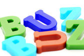 Close-up of letters — Stock Photo
