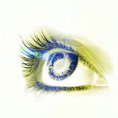 Great big eye. — Stock Photo