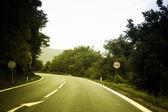 空荡荡的街道 — 图库照片