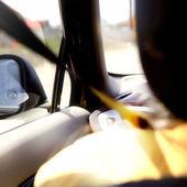 Car driving — Stock Photo