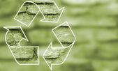 Recycle symbol . — Stock Photo