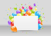 χαρούμενα γενέθλια — Διανυσματικό Αρχείο