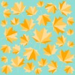 Autumn seamless pattern - Stock Vector