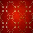 Vintage red wallpaper — Imagen vectorial