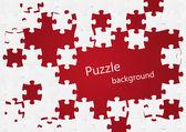Fundo de quebra-cabeça — Vetorial Stock