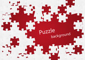 Puzzle background — Stock vektor