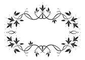 Floral frame — Stock Vector