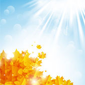 Autumn background — Stockvector