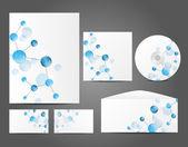 企业形象的设计 — 图库矢量图片