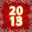 2013 New Year card — Stockvectorbeeld