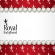 Royal background — Vector de stock #13526067