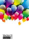 Ballon achtergrond — Stockvector
