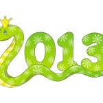 2013 Snake — Stock Vector #14140591