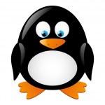 Cute penguin — Stock Vector #15530563