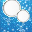 Shiny paper background with Christmas balls — Stock Vector #15530767