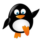 Cute penguin — Stock Vector