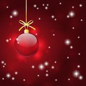 Vánoční hvězdné pozadí — Stock vektor