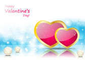 Valentine background — Stockvector