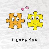 Funny Valentine card — Stock Vector