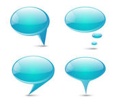 Communication concept: speech bubbles — Stock Vector