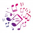 Royalty-Free Stock Imagen vectorial: Musical notes