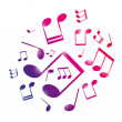 Royalty-Free Stock Vectorafbeeldingen: Musical notes