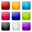 Stock Vector: Set of apps color icons