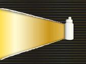 Luxury torn paper background — Stock Vector