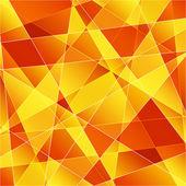 Orange abstract background — Stock Vector
