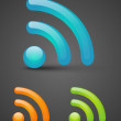 Stock Vector: Wi-Fi icons