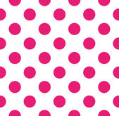 Polka dot vector seamless pattern — Stock Vector